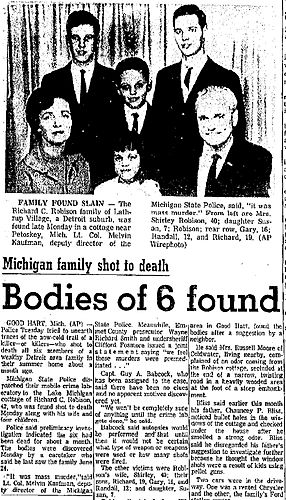 True Crime Tuesday: The Robison Family Murders – Here's the Fucking